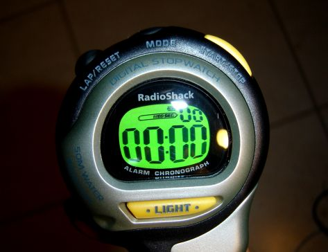 Radio Shack Stopwatch